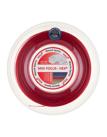 MSV Focus Hex 1.23mm Red...