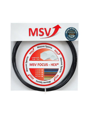 MSV Focus Hex 1.10mm Black...